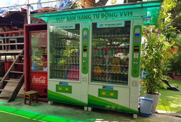 tự động hóa- máy bán lẻ tự động