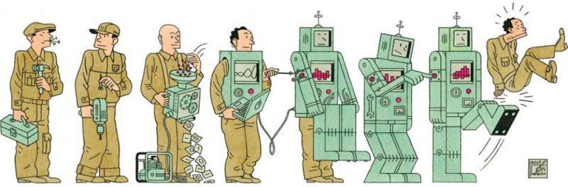 tự động hóa - thất nghiệp công nghệ