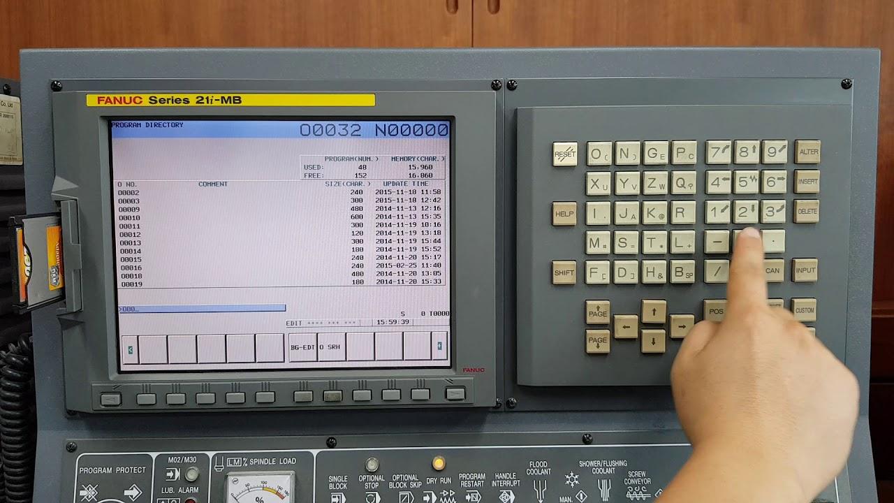 Lỗi trên bộ điều khiển Fanuc 21i