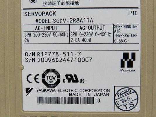 SGDV-2R8A11A