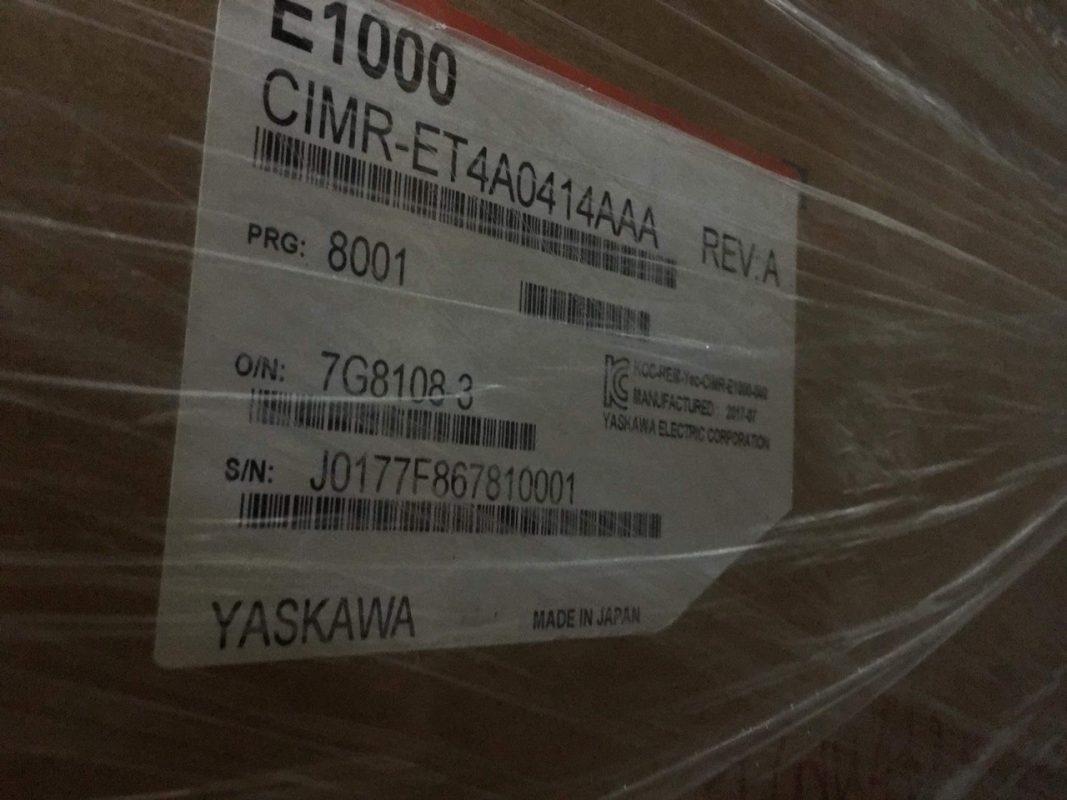 Biến tần Yaskawa E1000 CIMR ET4A 0414